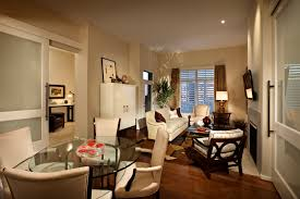Impressive Decorating Ideas Of Small Living Room Headlining The Neutral Beige Color Wall Interior For Narrow