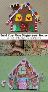 Printable Gingerbread Craft Template