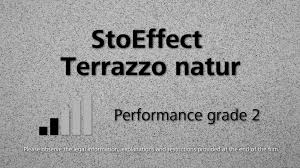 Effect StoEffect Terrazzo Natural Non Directional Render Texture With Sand Mixture