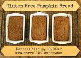 Gluten Free Bisquick Pumpkin Bread Recipe by Gluten Free Archives Dr Darrell Kilcup Functional Medicine