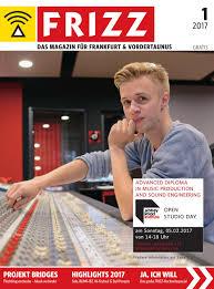 frizz das magazin frankfurt januar 2017 by frizz frankfurt
