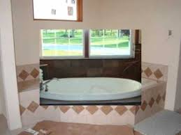 Tiling A Bathtub Deck by Tiled Tub Deck Moberly Mo Youtube
