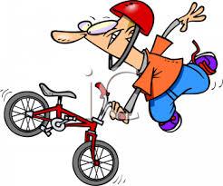 Guy Doing A BMX Bike Trick