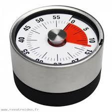 compte minute cuisine moins cher maison mécanique minuterie de cuisine aimant forme