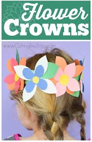 Flower Crowns Great Easy Spring Craft For Preschool Kindergarten Or Elementary Kids