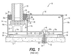 patent us7941982 integrated curtain wall and wireway