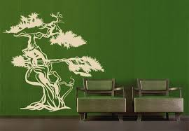 asian tree wall decal beautiful home decor sticker asia style