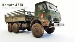 ICM 1/35 Scale KamAz 4310 Soviet