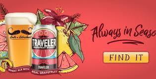 Travelers Pumpkin Beer by Home Traveler Beer Company