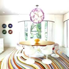 Dining Room Carpets Carpet Colorful Rugs Of Dream Round Rug
