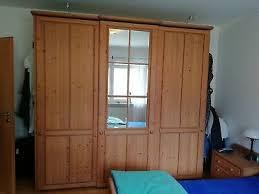 schlafzimmer komplett fichte gebürstet massiv holz landhausstil schrank kommode ebay