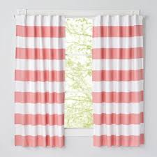 Pink Ruffle Blackout Curtains by Pink Curtains The Land Of Nod