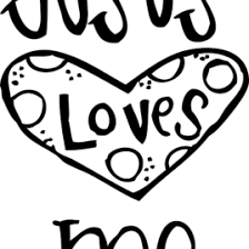 Free Printable Coloring Pages Jesus Loves Me