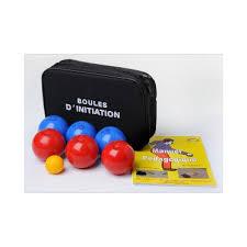 jeu de 6 boules souples initiation intérieur 65 200 pétanque stock