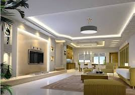 led ceiling cove lighting modern living room decoration ideas