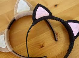 how to make cat ears craft idea cat ears headband
