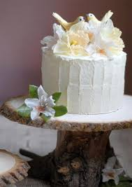 Rustic Wooden Cake Stand