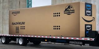 Amazon Is Driving Around A Jurassic-Sized Box, And You Can Ask Alexa ...