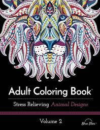 Adult Coloring Book Stress