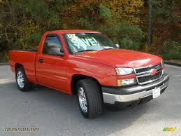 2007 Chevrolet Silverado 1500 LT Regular Cab In Victory Red - 163408 ...