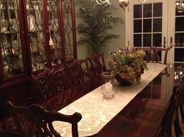 Thomasville Mahogany Dining Room Set