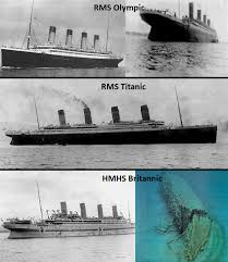 titanic facts titanic fact 3 the sister ships