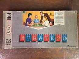 Image Is Loading Vintage Stratego Board Game From Milton Bradley Plastic