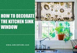 Kitchen Drapery Ideas Best Kitchen Sink Window Treatment Ideas For Your Home