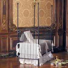 bratt decor venetian iron crib in slate