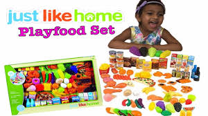 Step2 Kitchens U0026 Play Food by Learn Food With Peppa Pig Just Like Home Deluxe Playfood Set