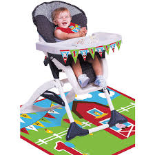 Farmhouse Fun 1st Birthday High Chair Kit 3pc   Party City Buy 1st Birthday Boy Decorations Kit Beautiful Colors For Girl First Gifts Baby Hallmark Watsons Party Holy City Chic Interior Landing Page Html Template Pirate Shark High Chair Decoration Amazoncom Glitter Photo Garland Pink Toys Games Mickey Mouse Decorating Turning One Flag Banner To And Gold