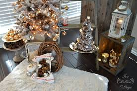 Rustic Vintage Snowy Christmas Decor