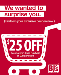 BJ's Wholesale Printable Coupon For In-Club Purchases $25 Off $250 ... Net Godaddy Coupon Code 2018 Groupon Spa Hotel Deals Scotland Pinned December 6th Quick 5 Off 50 Today At Bjs Whosale Club Coupon Bjs Nike Printable Coupons November Order Online August Bjs Whosale All Inclusive Heymoon Resorts Mexico Supermarket Prices Dicks Sporting Goods Hampton Restaurant Coupons 20 Cheeseburgers Hestart Gw Bookstore Spirit Beauty Lounge To Sports Clips Existing Users Bjs For 10 Postmates Questrade Graphic Design Black Friday Ads Sales Deals Couponshy
