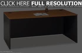 Sauder Shoal Creek Executive Desk Jamocha Wood by Computer Furniture For Small Spaces Computer Desks For Small