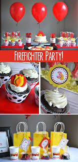100 Fire Truck Birthday Party Cute Birthday Party With Details Pics Fighter