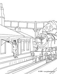 Coloriage De Train Gobelune