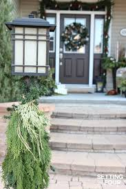 Outdoor Christmas Decorations Ideas 2015 by Holiday Cheer Outdoor Christmas Decorations Setting For Four