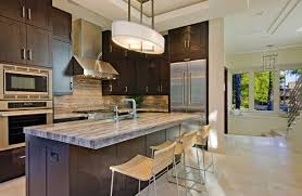 Collect This Idea Travertine Kitchen Mixing Light And Dark
