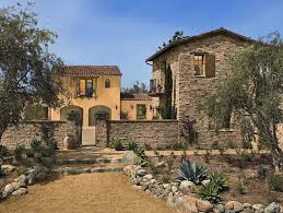 Rustic Italian Stone Facade And Wall