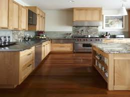 Dark Maple Cabinets Shaker Staining Wood