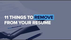 What Not To Include In A Resume: 15 Things To Remove Right Away ... Resume Templates Rumes Pelosleclaire Power Words For Cover Letter Nice What All Should Go On A Pictures 40 Best How Far Back An Example Of The Perfect Resume According To Hvard Career Experts Write A Onepage Including Photo On Your Leadership Skills Phrases Sample Goes In Format For Fresh Graduates Twopage 16 Things You Should Remove From Your Writing Common Questioanswers Once Have Information Down Cide What Type The Ultimate 2019 Examples And Format Guide