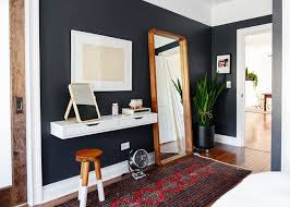 Design Ideas 10 Bedroom Wall Mirror 7 Floating Vanity IKEA Hack Black Walls And Tall Finally A That We