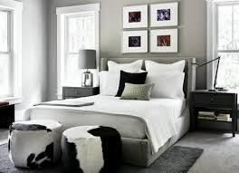 Black White Gray Bedroom Photo