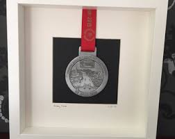 Marathon Medal Display Frame
