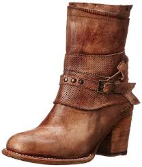 amazon com bed stu women s rowdy western boot mid calf