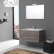 boston badezimmerschrank 90 cm mit trüffel schubladen