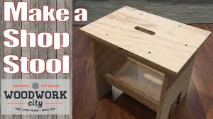 build a simple stool perfect stool bench for the shop and home