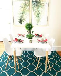 Midcentury Modern Dining Room With A Bright Tropical Twist ...