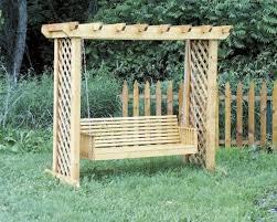 Yard Swing Frame Plans — Jbeedesigns Outdoor Good Porch Swing