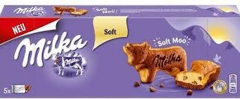 milka soft moo 5 mini kuchen in kuh form schokolade 140 gramm ebay